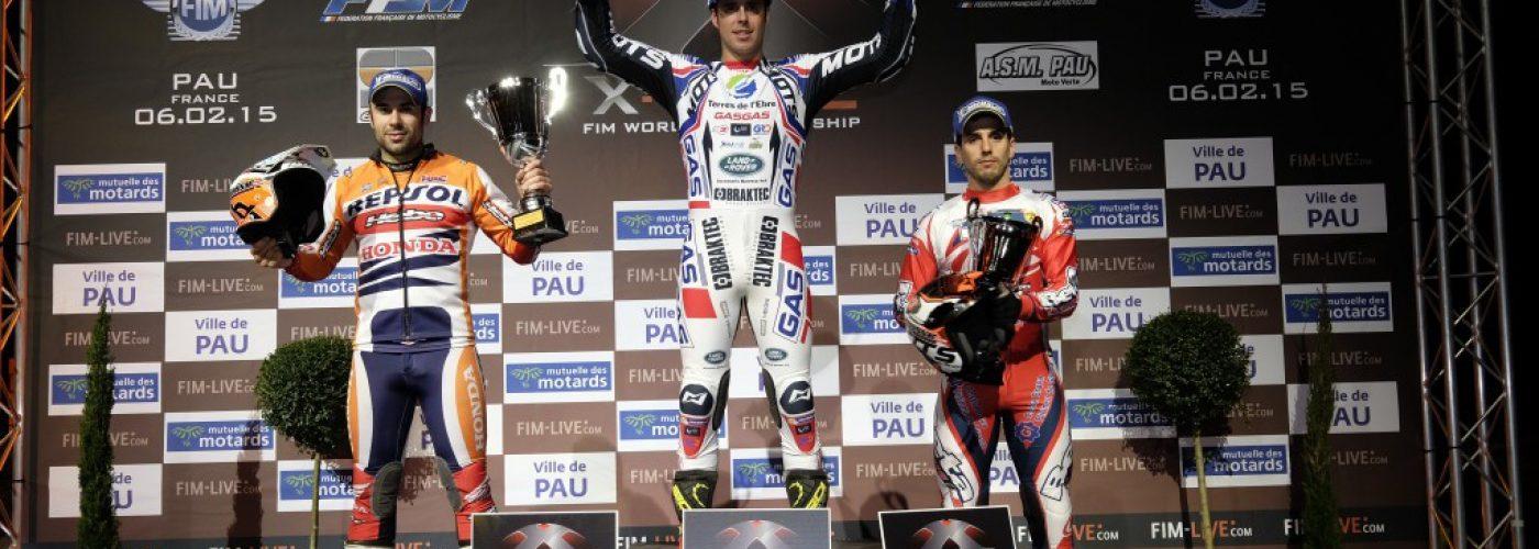 FIM X-TRIAL 2015 Pau